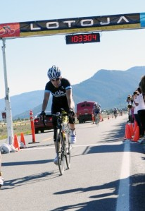 LOTOJA Finish